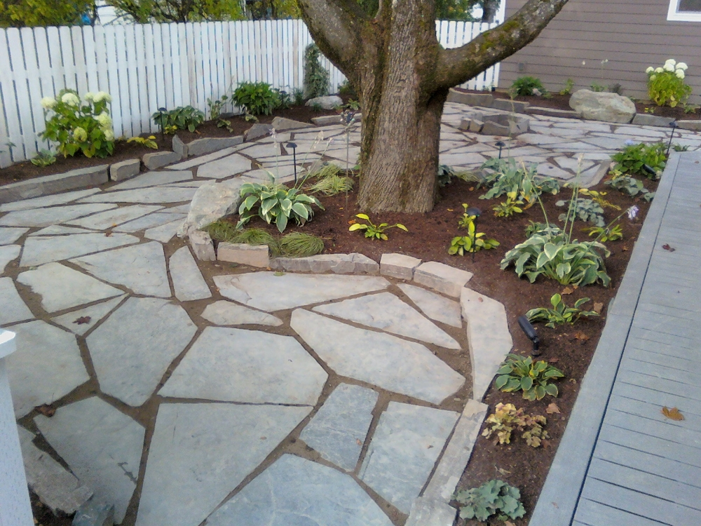 Awesome Turfcare Landscaping Sandpoint Natural Rock Path U0026 Patio (1)