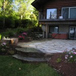 Turfcare Landscaping Sandpoint Natural Rock Path & Patio (11)
