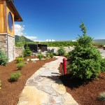 Turfcare Landscaping Sandpoint Natural Rock Path & Patio (12)