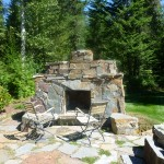 Turfcare Landscaping Sandpoint Natural Rock Path & Patio (15)