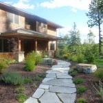Turfcare Landscaping Sandpoint Natural Rock Path & Patio (17)
