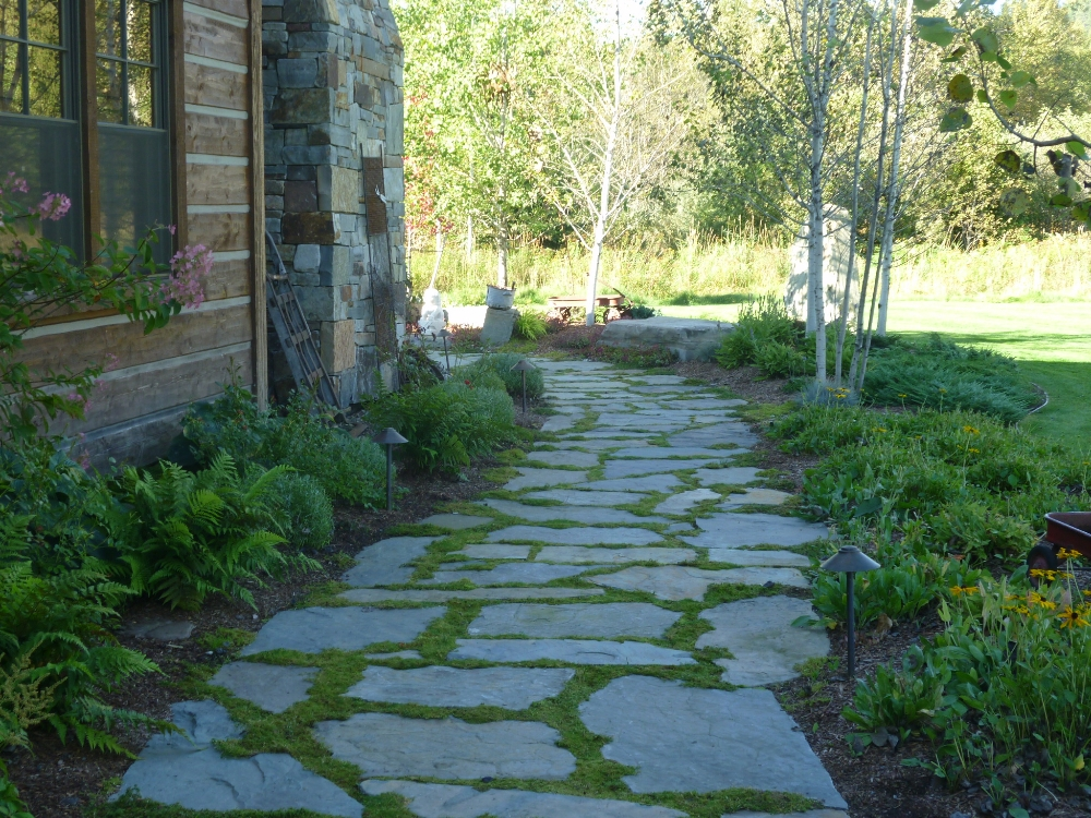 Natural Rock Walkways U0026 Patios   Turfcare Landscaping In Sandpoint, Idaho