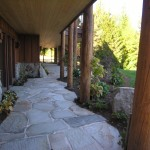Turfcare Landscaping Sandpoint Natural Rock Path & Patio (19)