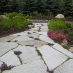 Turfcare Landscaping Sandpoint Natural Rock Path & Patio (21)