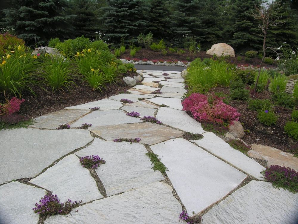 Natural Rock Pictures Natural Rock Path Amp Patio