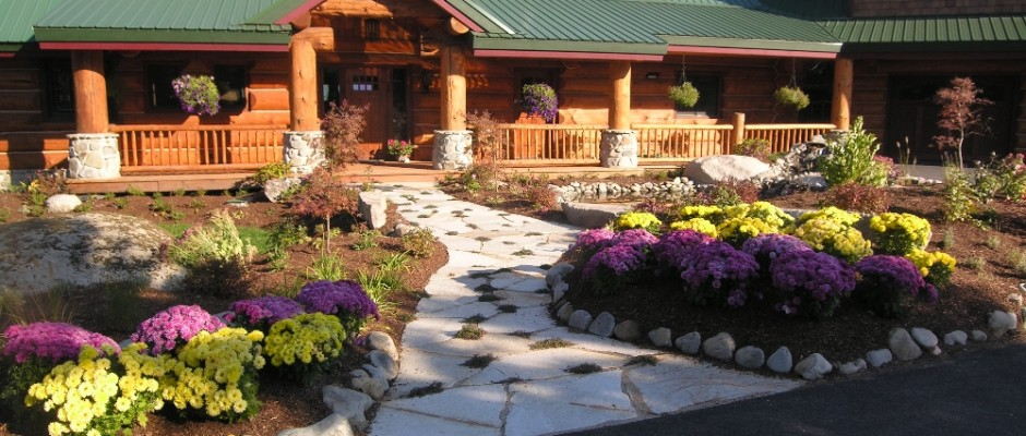 Turfcare Landscaping Sandpoint Natural Rock Path & Patio (22)