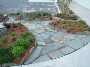 Turfcare Landscaping Sandpoint Natural Rock Path & Patio (4)
