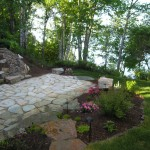 Turfcare Landscaping Sandpoint Natural Rock Path & Patio (8)
