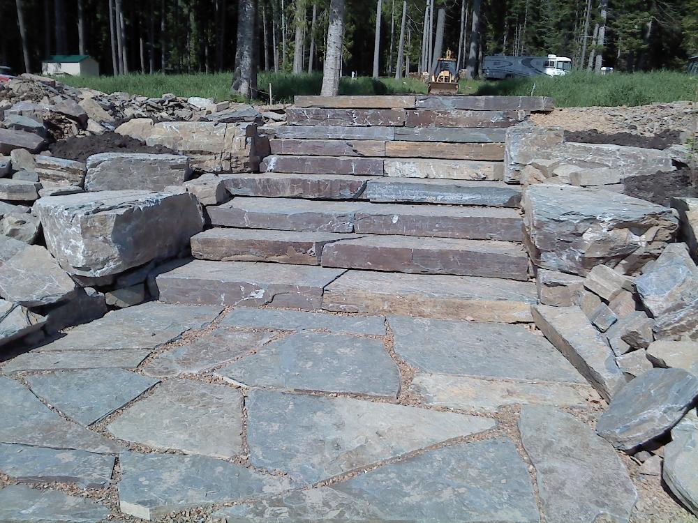Turfcare Landscaping Sandpoint Rock Steps (13)