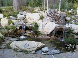 Sandpoint area water feature